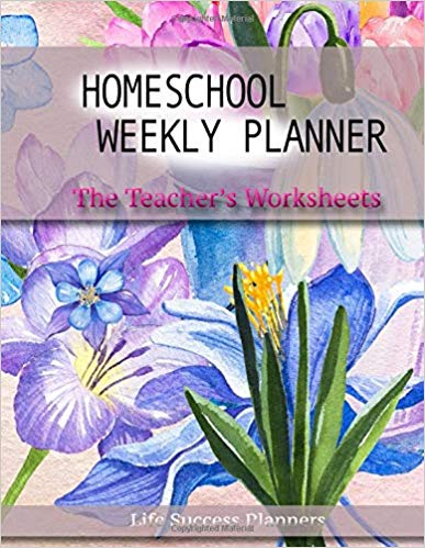 Homeschool Weekly Planner by Life Success Planners